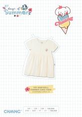 Váy babydoll Summer bé gái Chaang