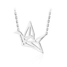 Dây chuyền   Dây chuyền bạc   Dây chuyền bạc nữ   Dây Chuyền Nữ Con Hạc Cá Tính   Dây Chuyền Nữ Bạc S925 Cao Cấp – DB2479 – Bảo Ngọc Jewelry