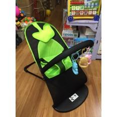 Ghế nhún tạo rung có gối, 3 tư thế và khung treo đồ chơi cho bé nằm ngồi – ghế rung tạo cho bé hiếu kì – vui vẻ