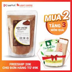 [MUA 2 TẶNG 3 QUÀ] Bột cacao cao cấp Light Coffee , 100% nguyên chất, không pha trộn tạp chất , dễ tan, đậm đà – Gói 500g