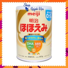 Sữa Meiji nội địa Nhật [CHÍNH HÃNG] / Sữa Meiji số 0-1, 800g – [CÓ TEM PHỤ TIẾNG VIỆT] – Dành cho trẻ từ 0 – 12 tháng tuổi