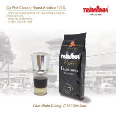 Cà Phê rang xay nguyên chất hương vị xưa Classic Roast Arabica 100%-250gr- TRÂM ANH