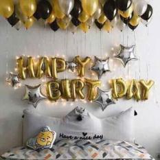 Set bóng trang trí sinh nhật tone màu sang trọng