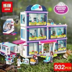 Lego Girls Club – 932 khối – Xếp hình Bệnh viện Heartlake