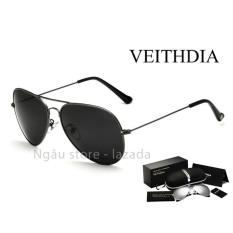 Kính mát phân cực thời trang nam VEITHDIA 3026 (pilot)