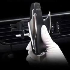 Kẹp điện thoại xe hơi kiêm sạc không dây S5 – Kep dien thoai xe hoi kiem sac khong day S5