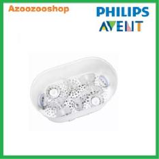 [Nhập ELMAY21 giảm 10% tối đa 200k đơn từ 99k]Máy tiệt trùng hơi nước 3 trong 1 Philips Avent SCF284/02 chứa được đến 6 bình sữa Philips Avent