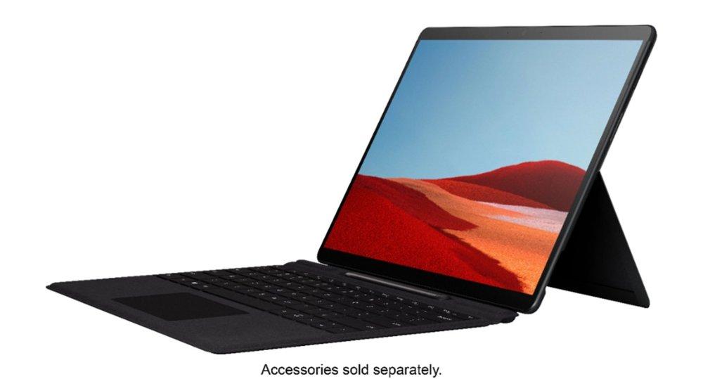 New Surface Pro X Microsoft SQ1 13 inch Windows 10 RAM 8GB / SSD 128GB