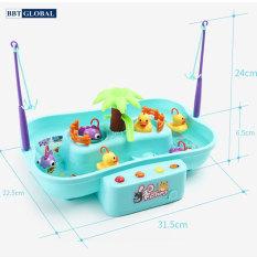 Bộ đồ chơi câu vịt cao cấp có nhạc cho bé 889-141 đồ chơi thông minh, do choi tri tue