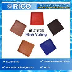 Bộ 10 miếng để lót ly vuông Rico
