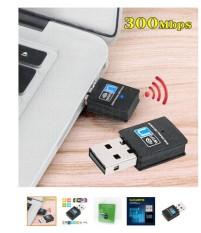 Usb thu sóng wifi cho máy tính và laptop tốc độ cao 300Mb có đĩa cài đi kèm