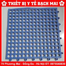 Tấm Thảm Lót Sàn Nhựa Lỗ Kháng Khuẩn, Chống Trơn, Trượt KT30*30cm Sạch Sẽ, Thoáng Mát, Êm Chân, An Toàn Cho Trẻ