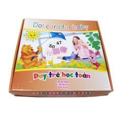 Bộ Thẻ Flashcard Dạy Trẻ Học Toán theo phương pháp Glenn Doman – Dot Card For Baby