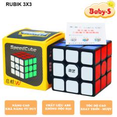 Rubik 3×3 Qiyi Sail W, Rubic 3×3 tầng Khối lập phương rubik siêu bền và chắc chắn xoay mượt bẻ góc cực tốt Baby-S – SDC052
