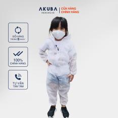 Bộ đồ bảo hộ y tế cho bé đạt chuẩn an toàn AKUBA chất liệu vải không dệt, kháng khuẩn phong cách thời trang