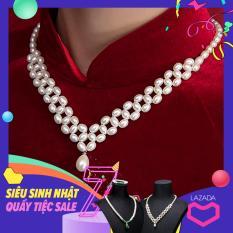 Vòng ngọc trai cao cấp, thời trang quý phái Queen Pearl DB-2120
