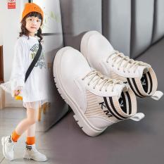 Giày boot cho bé gái bốt bo chun sang chảnh siêu hot