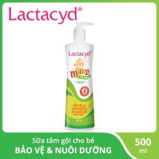 Sữa tắm gội trẻ em Lactacyd Milky 500ml