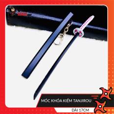 Móc khóa kiếm Tanjirou không gỉ thanh gươm diệt quỷ mô hình 17cm anime Kimetsu No Yaiba Otaku Ninja Shop