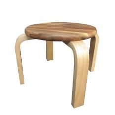 Ghế tròn gỗ tràm | Gỗ Đức Thành 13151