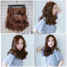 Tóc giả nữ kẹp 💄 FREESHIP 💄 tóc kẹp xoăn ngắn 35cm k35