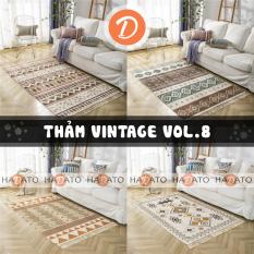 Thảm trải sàn Thảm scandinavian Thảm Vintage TIÊU CHUẨN VOL8 – TR 8