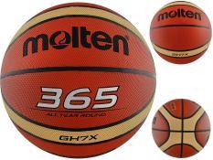 Bóng rổ số 7 Molten 365 GH7X da cao cấp Tặng kim bơm+túi lưới