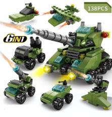 Bộ Đồ Chơi Lắp Ráp Xe Tăng Lego 138 Chi Tiết Bền Đẹp Xếp Được 6 mô hình trong 1. Shop giao bộ ngẫu nhiên, chát với shop để chọn bộ