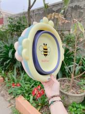 Chậu rửa mặt gấp gọn cho bé hình chú ong , sản phẩm cam kết như hình, sản phẩm tốt chất lượng và độ bền cao