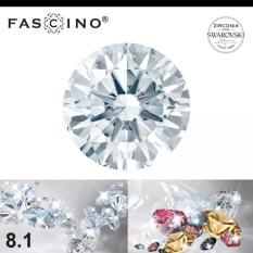 SWAROVSKI Kim cương nhân tạo 3.6 – 15.0 MM Diamond Cut MÀU TRẮNG NƯỚC D – SWAR150