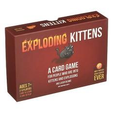 Exploding Kittens – Mèo Nổ Đỏ Cơ Bản [Hộp Cứng] Việt Hóa, Chất Liệu Tốt Độ Bền Cao, Màu Sắc Tươi Sáng