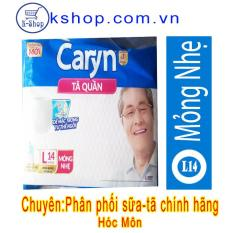Tã quần Caryn mỏng nhẹ L14 (75-100CM)-Mẫu Mới Giao Diện Mới