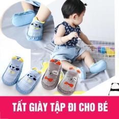 Giày tập đi chống trượt cho bé trai/bé gái