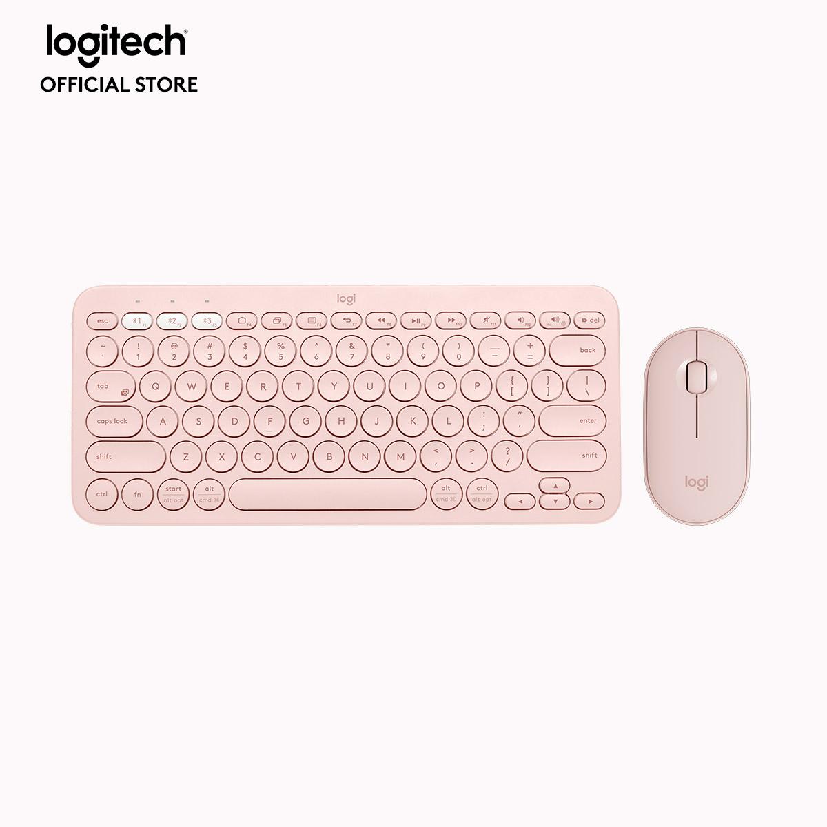 Combo Bàn phím K380 Bluetooth Multi-Device và chuột Pebble M350 Silent giá  rẻ 1.199.000₫
