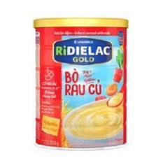 BỘT ĂN DẶM RIDIELAC GOLD BÒ RAU CỦ – HT350G