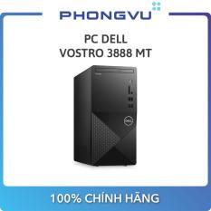 PC Dell Vostro 3888 MT MTG6400W-4G-1T (Intel Pentium G6400 / 4GB / HDD 1TB / Win 10 / DVD / Wifi) – Bảo hành 12 tháng