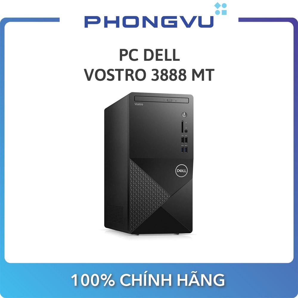 PC Dell Vostro 3888 MT MTG6400W-4G-1T (Intel Pentium G6400 / 4GB / HDD 1TB / Win 10 / DVD /...