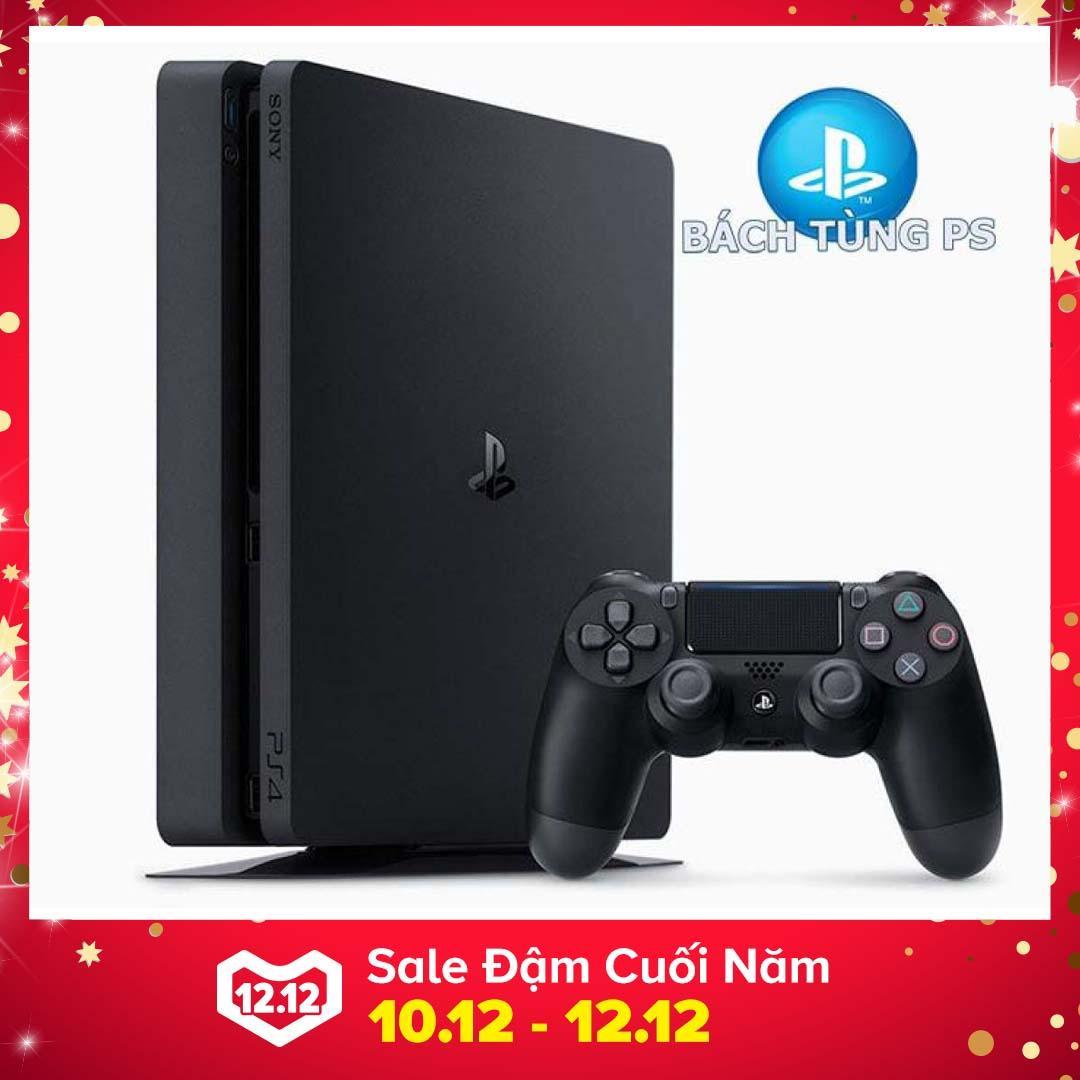Máy Sony PlayStation PS4 Slim 500Gb CUH2106A (Đen) +Tay cầm dualshock 4