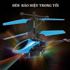 Đồ chơi máy bay trực thăng cảm biến bằng tay chất liệu nhựa ABS siêu bền bỉ an toàn cho bé