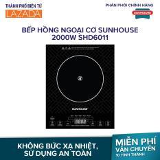 Bếp hồng ngoại cơ Sunhouse 2000W SHD6011 – 5 chế độ nấu, không kén nồi – Hãng phân phối chính thức