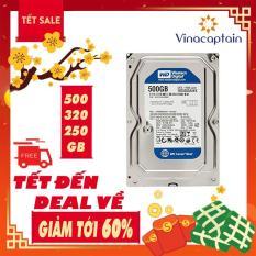Ổ cứng HDD WD Blue 500GB/320GB/250GB – Nhập khẩu từ Nhật Bản, Hàn Quốc – Bảo hành 6 tháng 1 đổi 1