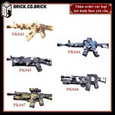 Phụ kiện MOC Army- Đồ chơi lắp ráp minifig và non-lego mô hình sáng tạo trang trí quân đội- PK043-PK047