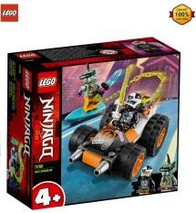 Mô Hình Lắp Ráp Lego Nnjago Xe Đua Của Cole 71706 ( 52 chi tiết)