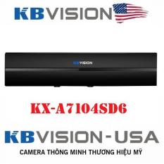Đầu ghi camera 4 kênh 5in1 HD 1080N KBVISION KX-7104SD6 – Chính hãng KBVISION Việt Nam