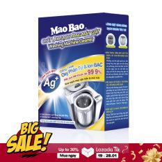 Vệ sinh máy giặt Mao Bao dạng bột chứa Ion Bạc 306g khử bẩn đặc biệt, hiệu quả diệt khuẩn đến 99.9% ( Cho 1 Lần Vệ Sinh )