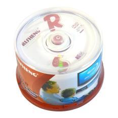 Đĩa dvd trắng ,Đĩa trắng DVD Risheng 1 lốc 50 cái 4.7G
