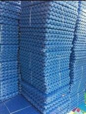 Xốp trải sàn vân khế 60×60 , bịch 4 miếng – làm bằng xốp êm ái