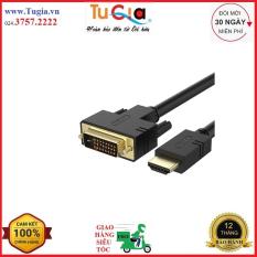 Cáp chuyển đổi HDMI to DVI 24+1 dài 1.5m Unitek Y-C217 – Hàng Chính Hãng