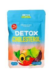Viên khử mỡ giảm cân giấm táo Detox Cholesterol Thái Lan 60 viên