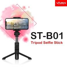Gậy Chụp Hình Tự Sướng Có Giá Đỡ Xoay 360 Độ Bluetooth 4.2 Remote Điều Khiển Từ Xa VIVAN ST-B01 – BẢO HÀNH CHÍNH HÃNG 1 ĐỔI 1